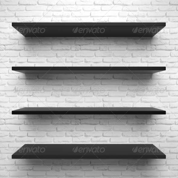 GraphicRiver Shelves 8568591