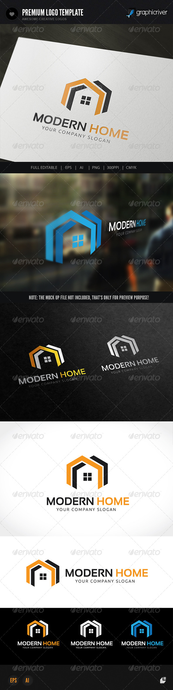 GraphicRiver Modern Home 8568592