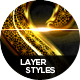 Glossy Layer Styles Vol.1 - GraphicRiver Item for Sale