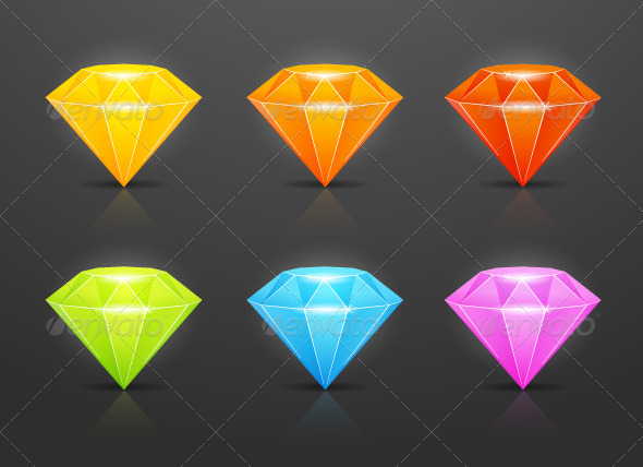 GraphicRiver Diamonds 8563589
