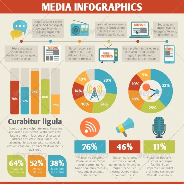 GraphicRiver Media Infographics 8569090