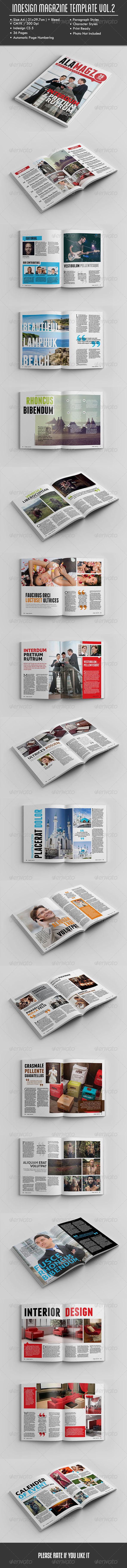GraphicRiver InDesign Magazine Template Vol.2 8569305