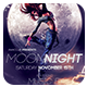 Special Night Flyer - Moon Night - GraphicRiver Item for Sale