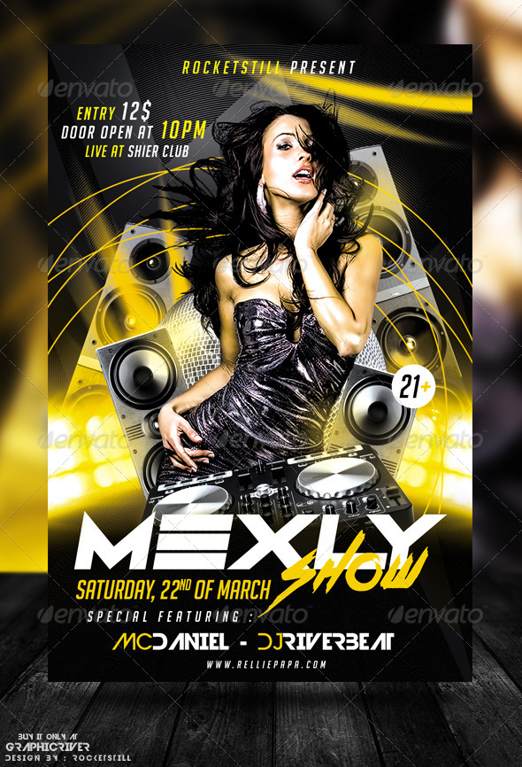 GraphicRiver MXY Flyer Template 8569405