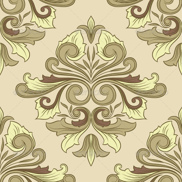 GraphicRiver Classic Ornament Pattern 8569417