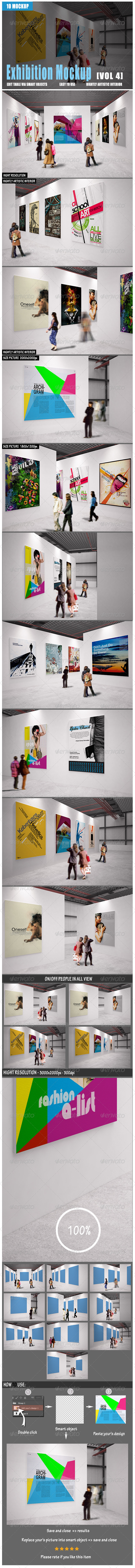 GraphicRiver Exhibition Mockup [vol 4] 8564611