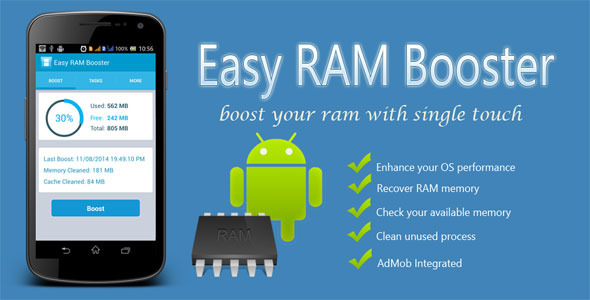 CodeCanyon Easy RAM Booster 8569489