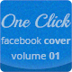 One Click Facebook Cover Vol.01 - GraphicRiver Item for Sale