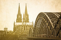 Retro Gothic Cathedral in Cologne - PhotoDune Item for Sale