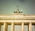 Retro Brandenburg Gate - PhotoDune Item for Sale