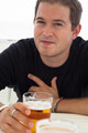 Young man with glass of beer - PhotoDune Item for Sale