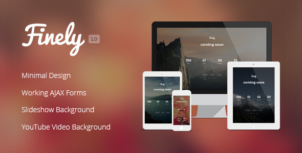 ThemeForest Finely Responsive Under Construction Template 8569924