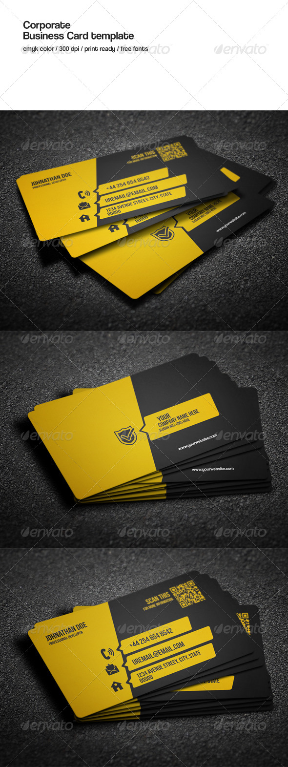 GraphicRiver Corporate Business Card 8569939