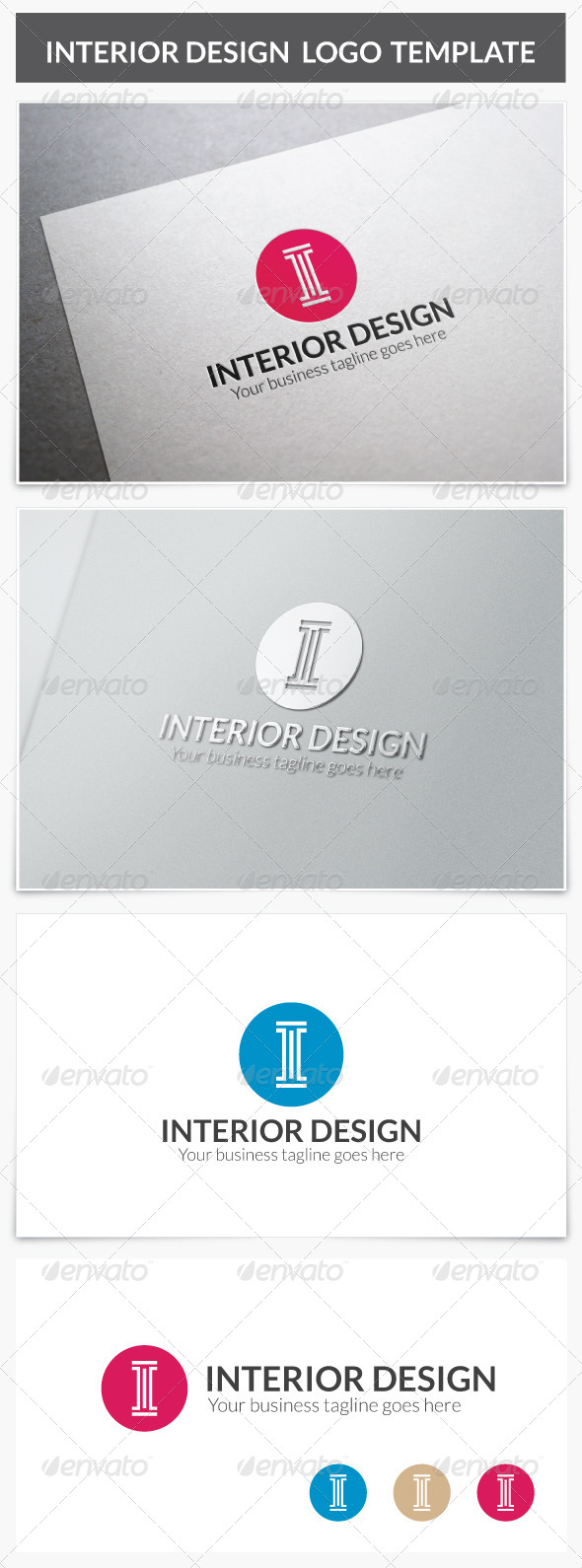 GraphicRiver Interior Design Logo 8569959