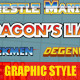 8 Vintage / Classic Arcade Game Title Style - GraphicRiver Item for Sale