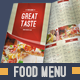 Food Menu Pack 3 - GraphicRiver Item for Sale