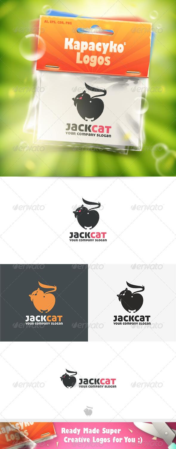 GraphicRiver Jack Cat Logo 8570330