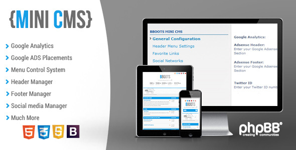 BBOOTS - HTML5/CSS3 Fully Responsive phpBB 3.2 Theme - 3