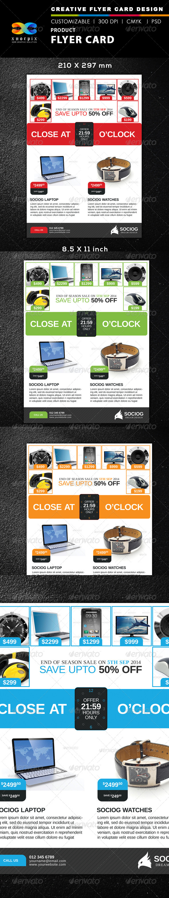 GraphicRiver Product Flyer 8570515