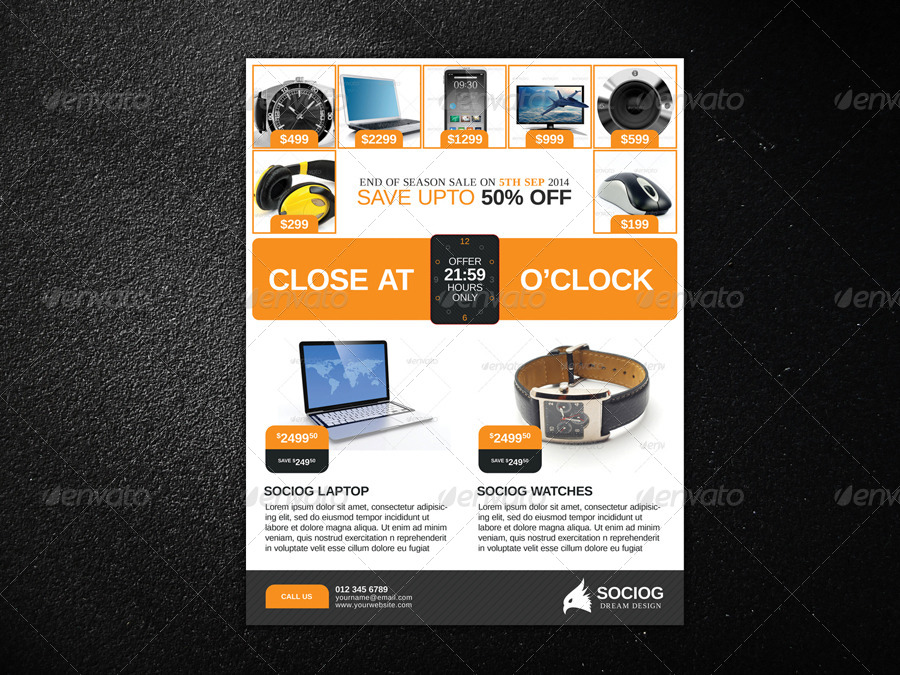 Product Flyer by axnorpix – Product Flyer