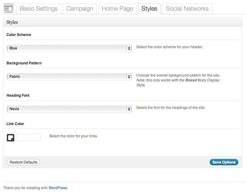 Campaign - Political WordPress Theme