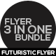Futuristic Flyer Bundle Vol-01 - GraphicRiver Item for Sale