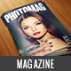 Professional Magazine A4 - 28 pages - GraphicRiver Item for Sale