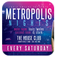 Metropolis Nights | Horizontal Flyer + FB Cover - GraphicRiver Item for Sale