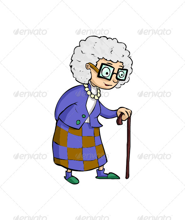 GraphicRiver Old Women 8574718