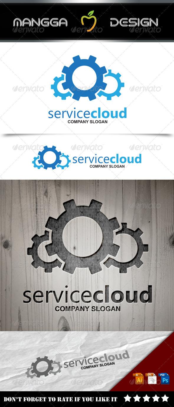 GraphicRiver Service Cloud Logo 8574736