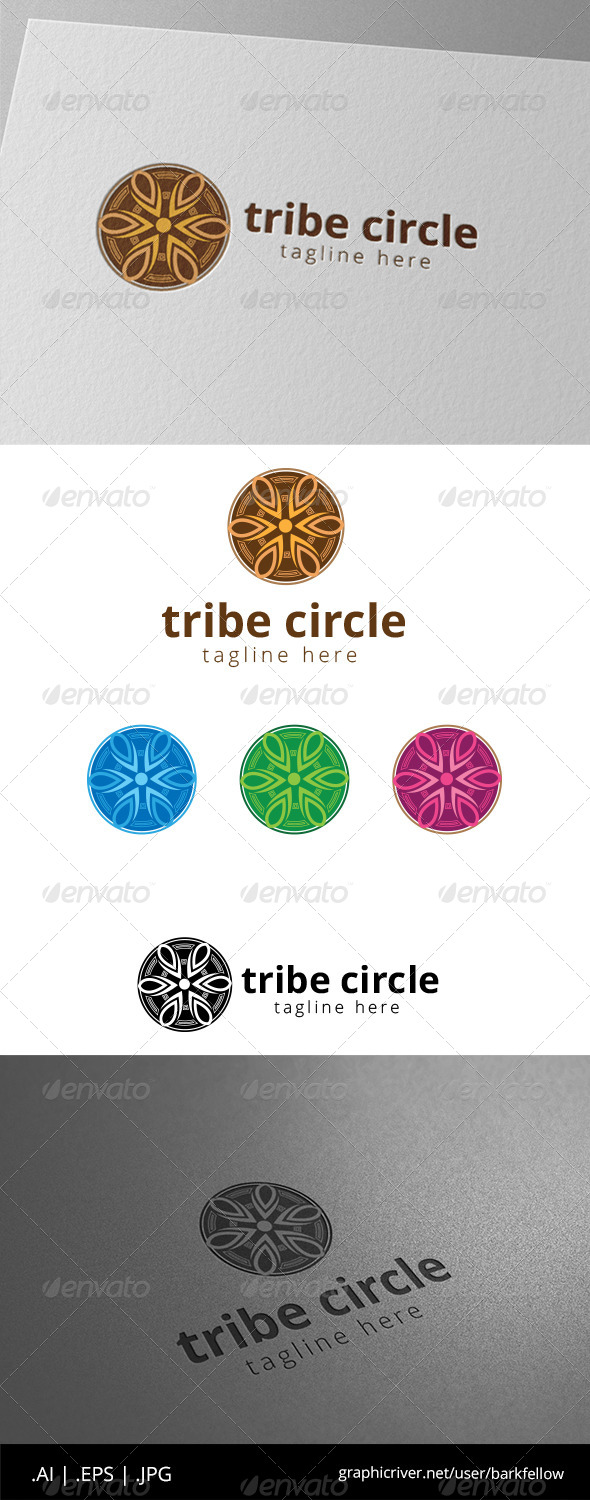 GraphicRiver Native Circle Logo Template 8574742