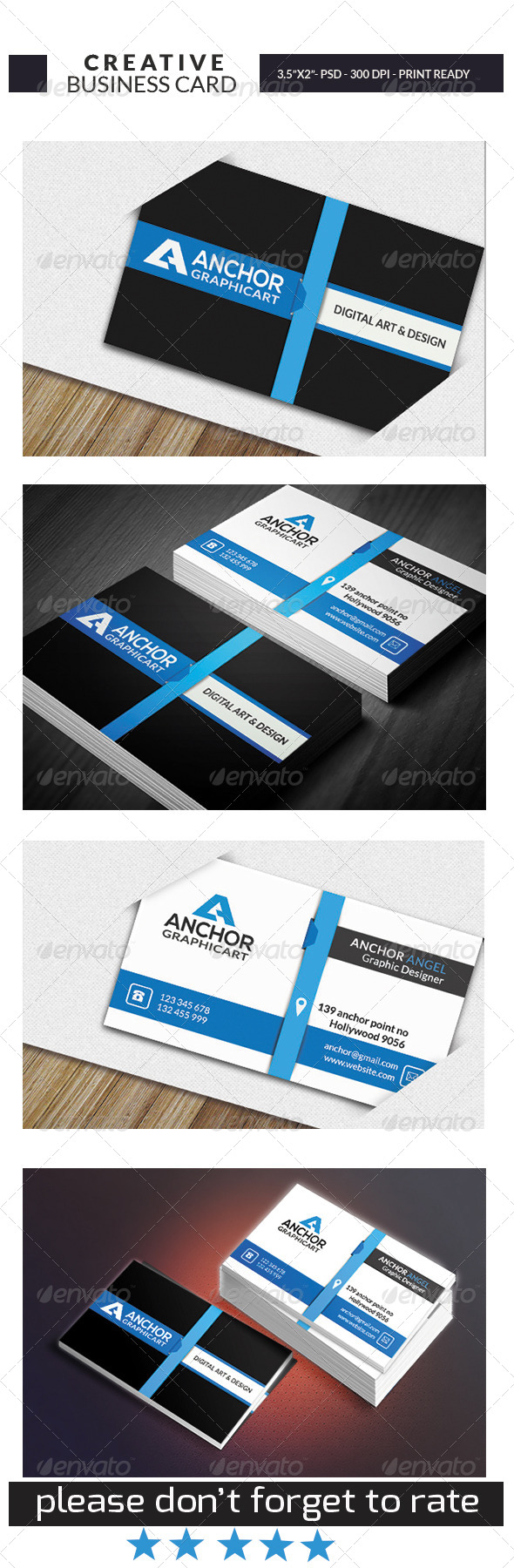 GraphicRiver Creative Business Card Template 8574754
