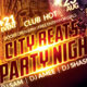 City Beats Party Night Flyer - GraphicRiver Item for Sale