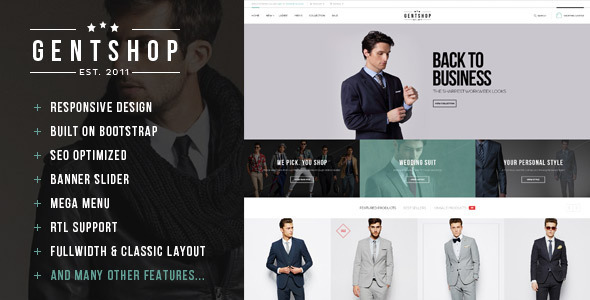 ThemeForest Pts GentShop Great Fashion Prestashop Theme 8575313