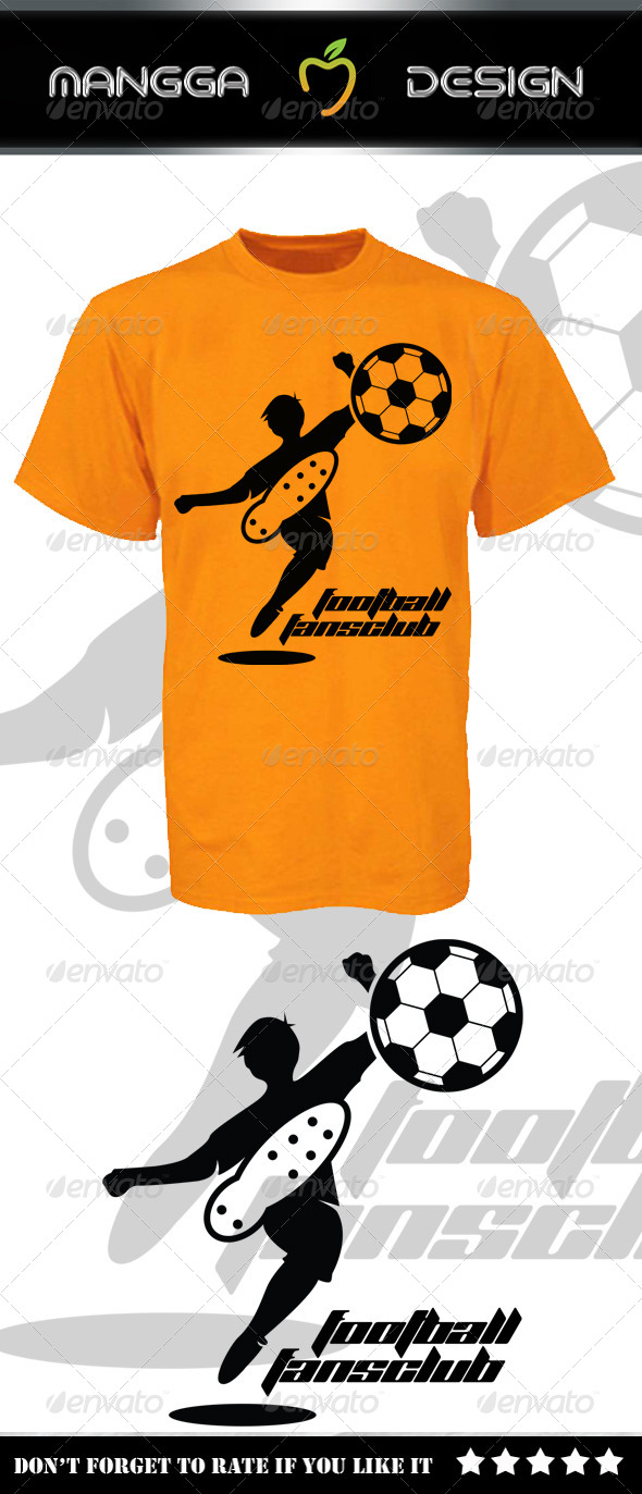 GraphicRiver Football Fans Club T-shirt 8575320