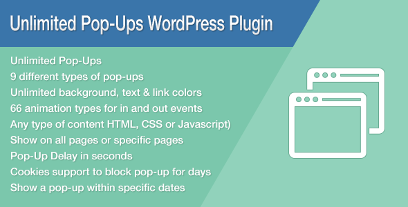 CodeCanyon Unlimited Pop-Ups WordPress Plugin 8575498
