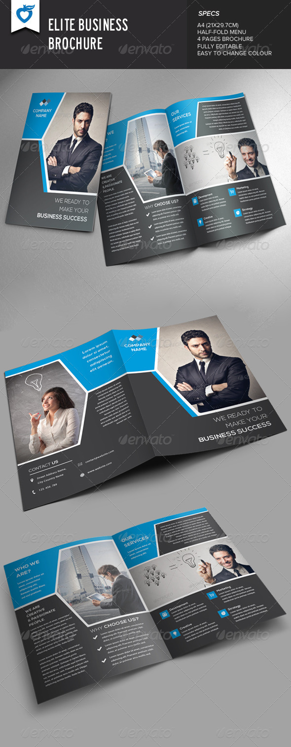 GraphicRiver Elite Business Brochure 8575786