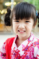 Little asian child in japanese traditional costume - PhotoDune Item for Sale
