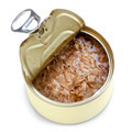 Open Can of Tuna Isolated - PhotoDune Item for Sale