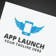 App Launch Logo - GraphicRiver Item for Sale