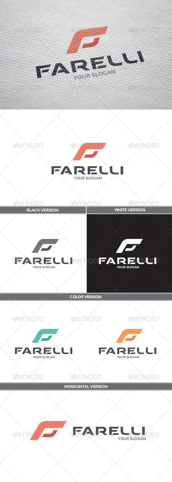 GraphicRiver Farelli Logo 8576283