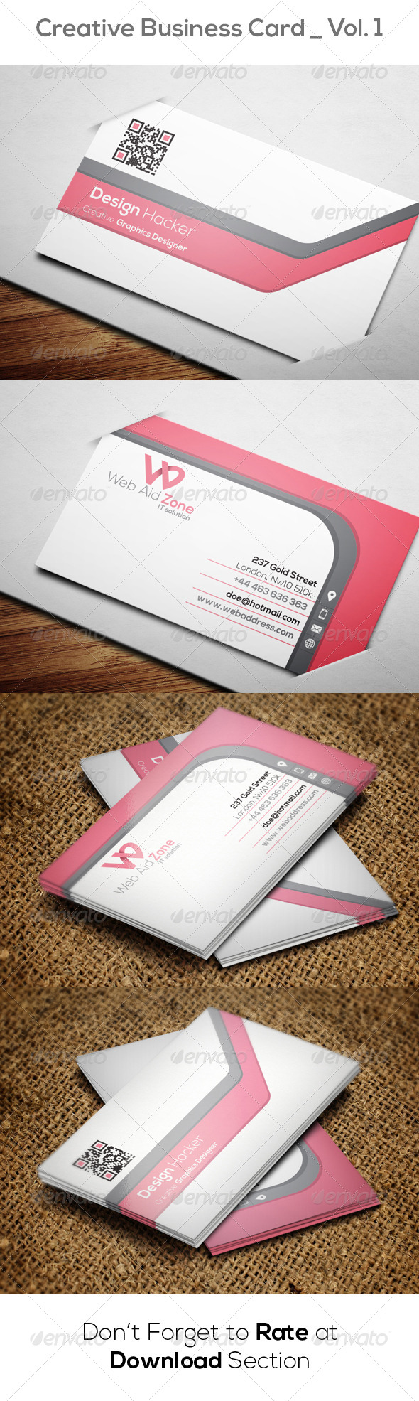 GraphicRiver Creative Business Card Vol 1 8576453