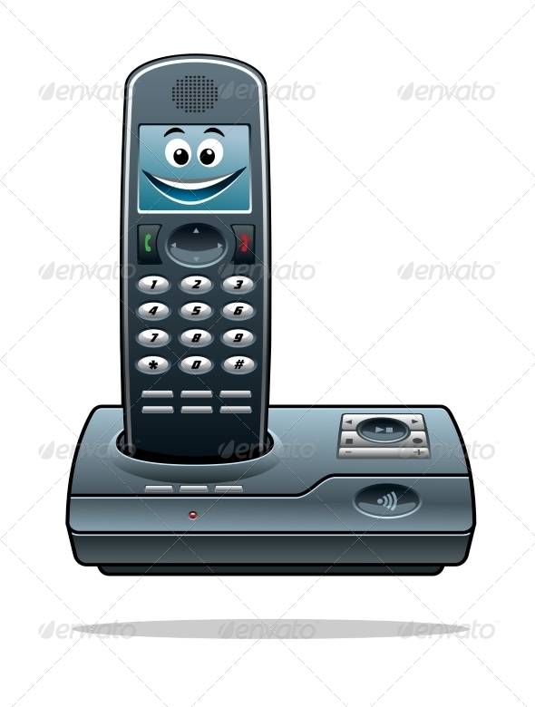 GraphicRiver Cordless Telephone 8576454