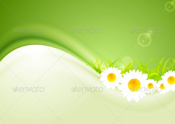 GraphicRiver Modern Bright Summer Background 8576494