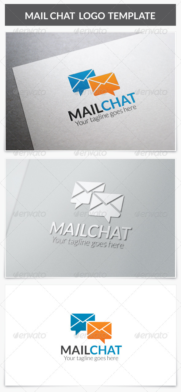 GraphicRiver Mail Chat Logo 8577274