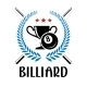 Billiard Emblem with Laurel Wreath - GraphicRiver Item for Sale