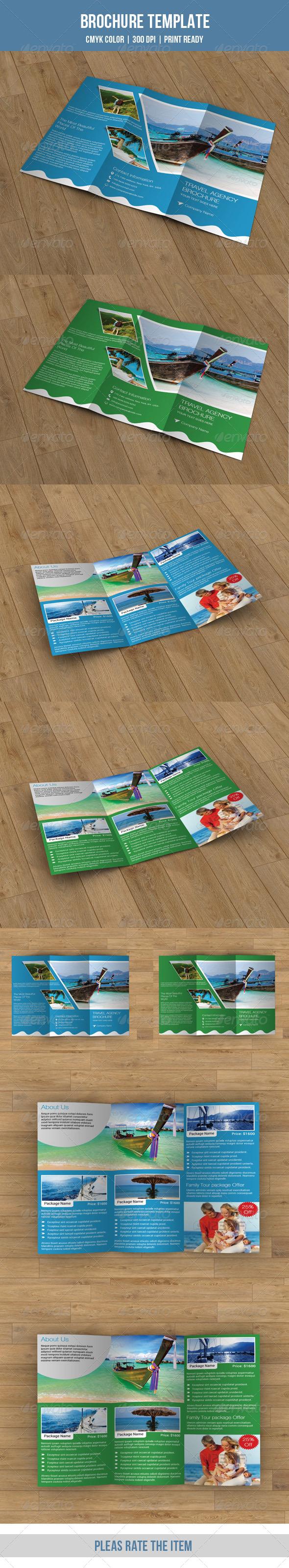 GraphicRiver Tri-fold business brochure v51 8579618