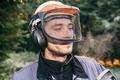 Professional gardener in helmet - PhotoDune Item for Sale