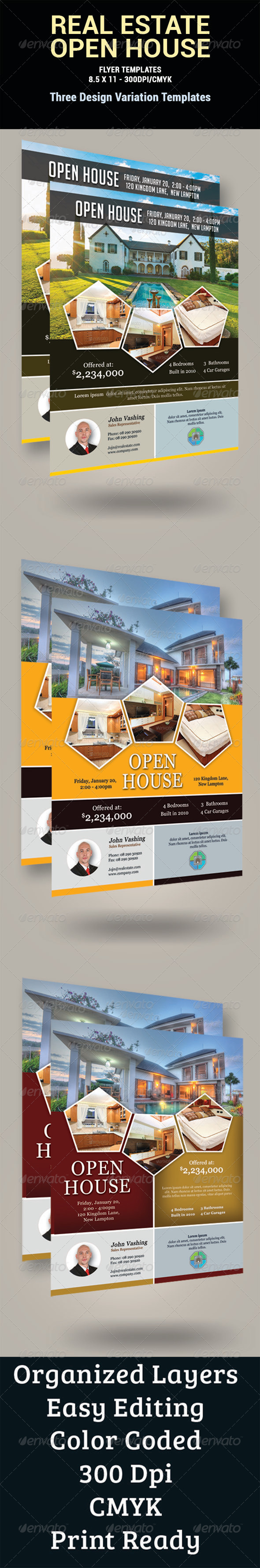 GraphicRiver Real Estate Flyer 8581860