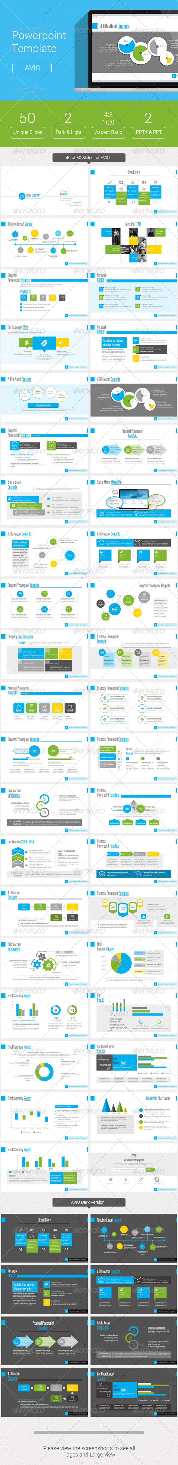 GraphicRiver AVIO Powerpoint Template 8552676